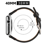 Mifan Genuine Leather Band for Apple Watch 40mm/38mm Rock Grey - MifanGo.com