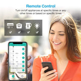 Smart Wifi Plug Extension App Remote Control Power Strip with USB Outlets - MifanGo.com