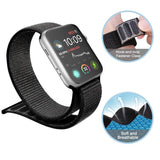 Mifan Official Nylon Loop Band for Apple Watch 44mm/42mm Series 1/2/3/4/5 Black - MifanGo.com