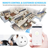 Smart Plug Socket Remote WIFI App Control for Alexa/Echo/Google Home/IFTTT - MifanGo.com