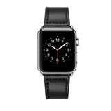 Apple Watch Genuine Leather Band 44/42mm Series 1/2/3/4/5 Cutting Black - MifanGo.com