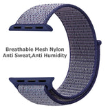 Mifan Official Nylon Loop Band for Apple Watch 40mm/38mm Series 1/2/3/4/5 Midnight Blue - MifanGo.com
