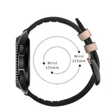 Mifan Hybrid Silicone Genuine Leather Band 22mm Camouflage Sand for Samsung/Huawei/Garmin/Fossil - MifanGo.com