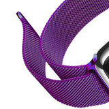 Mifan Official Milanese Loop Band for Apple Watch 40/38mm Series 1/2/3/4/5 Purple - MifanGo.com