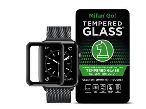 Mifan Official 3D Curved Glass Screen Protector For Apple Watch 38mm Series 1/2/3 - MifanGo.com
