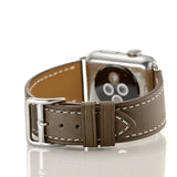 Premium Genuine Leather Band for Apple Watch 44mm/42mm Supreme Light Brown - MifanGo.com