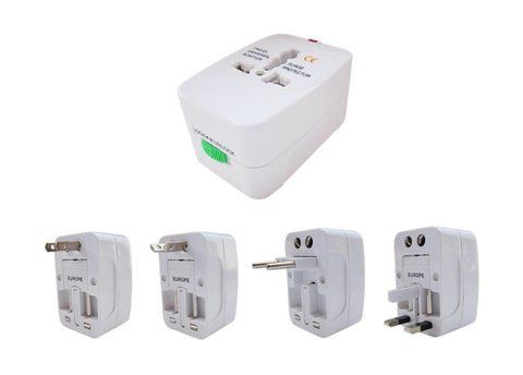 Mifan All In One Universal Travel Adapter Plug US UK EU AU AC Plug - MifanGo.com