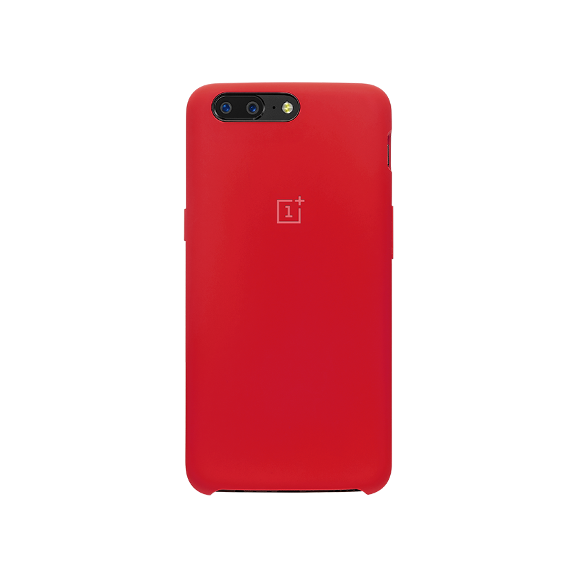 the latest 01490 ef466 Original OnePlus 5 5T Premium Liquid Silicone Protective Case