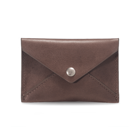 Original OnePlus Mini Card Holder Genuine Leather Brown - MifanGo.com