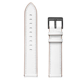 Mifan Genuine Leather Band 20mm Supreme White for Samsung/Huawei/Garmin/Fossil - MifanGo.com