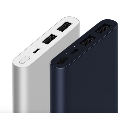 Xiaomi 10000mAh Power Bank 2 Grey - MifanGo.com