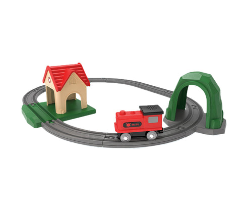 Xiaomi Mijia Wood Train Toy Set - MifanGo.com