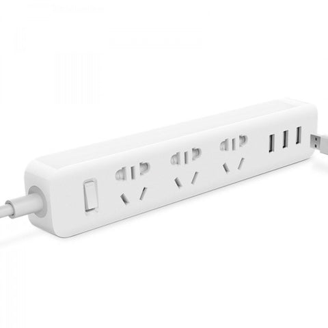 XiaoMi Mini China Power Plug Extention Cord with 3 USB Charging Ports - MifanGo.com