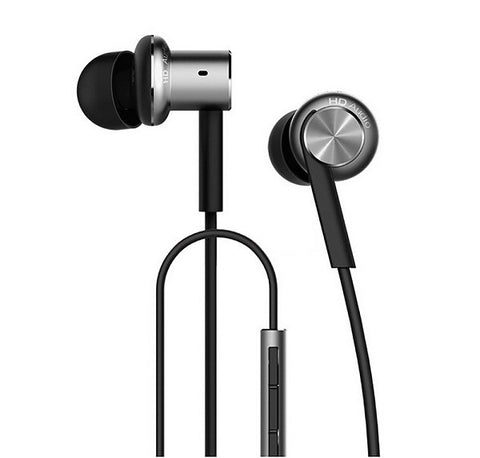 Xiaomi Original Circle Iron Hybrid Earphone Pro Black - MifanGo.com