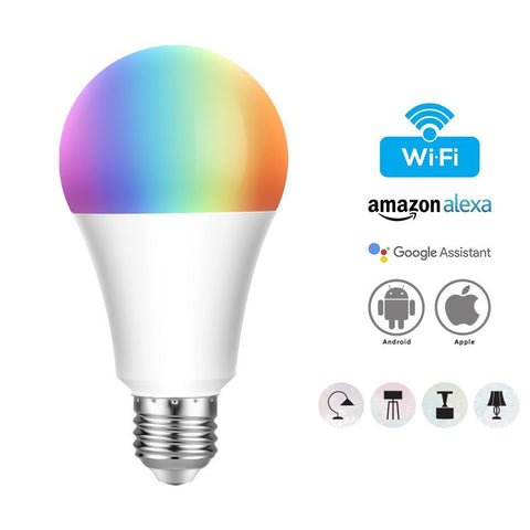 Smart LED Bulb E27 Remote App Control Alexa/Echo/Google Home - MifanGo.com