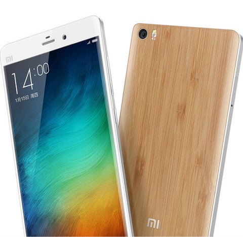 Original Xiaomi Bamboo Back Cover Replacement for Mi Note - MifanGo.com