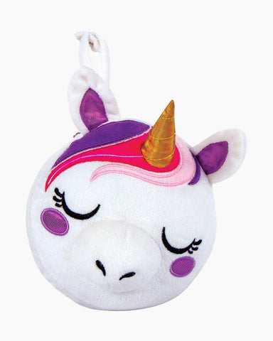 Dreaming of Unicorns Travel Pillow & Eye Mask