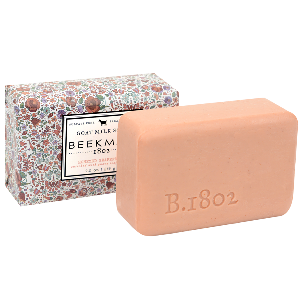 Honeyed Grapefruit Beekman 1802 Goat Milk Soap