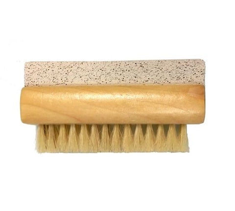 Wooden Nail Brush with Pumice