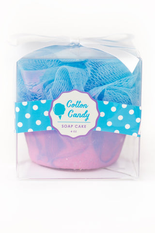 Cotton Candy Soap Cake