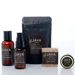 Java Jet Set Travel Size Collection