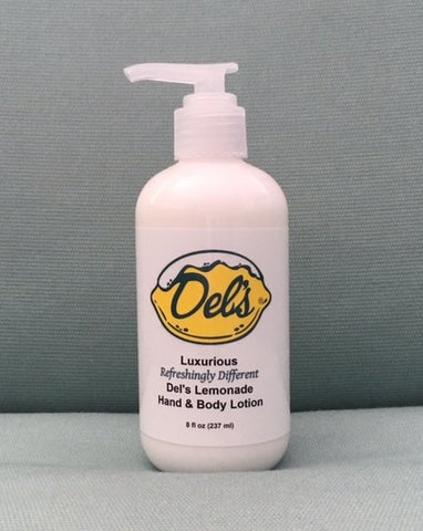 Del's Luxurious Hand & Body Lotion