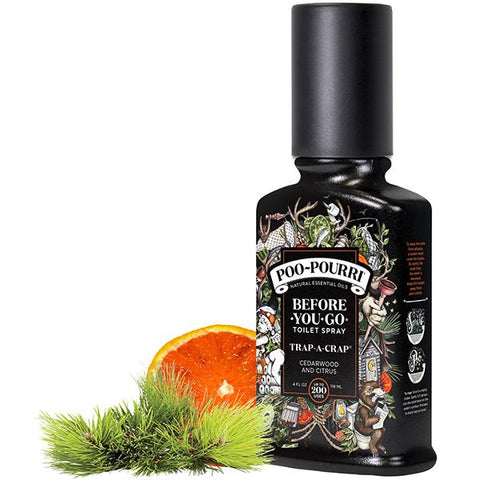 Trap-a-Crap Poo-Pourri Before-You-Go Toilet Spray