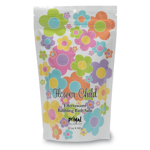Flower Child Bubbling Bath Salts by Primal Elements