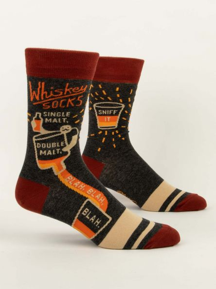 Whiskey M-Crew Socks