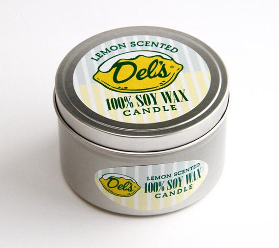 Dels Lemonade Candle