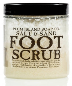 Plum Island Foot Scrub Salts