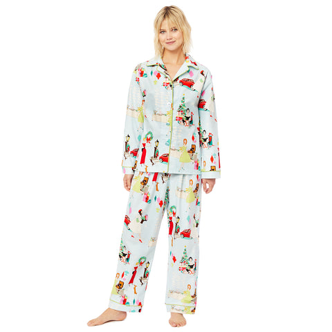 Glam for the Holidays Flannel Pajama