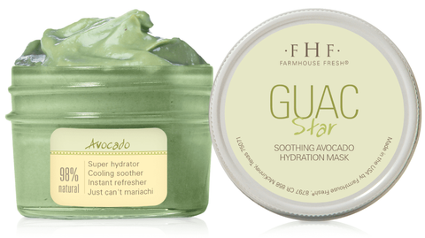Guac Star Avocado Hydration Face Mask