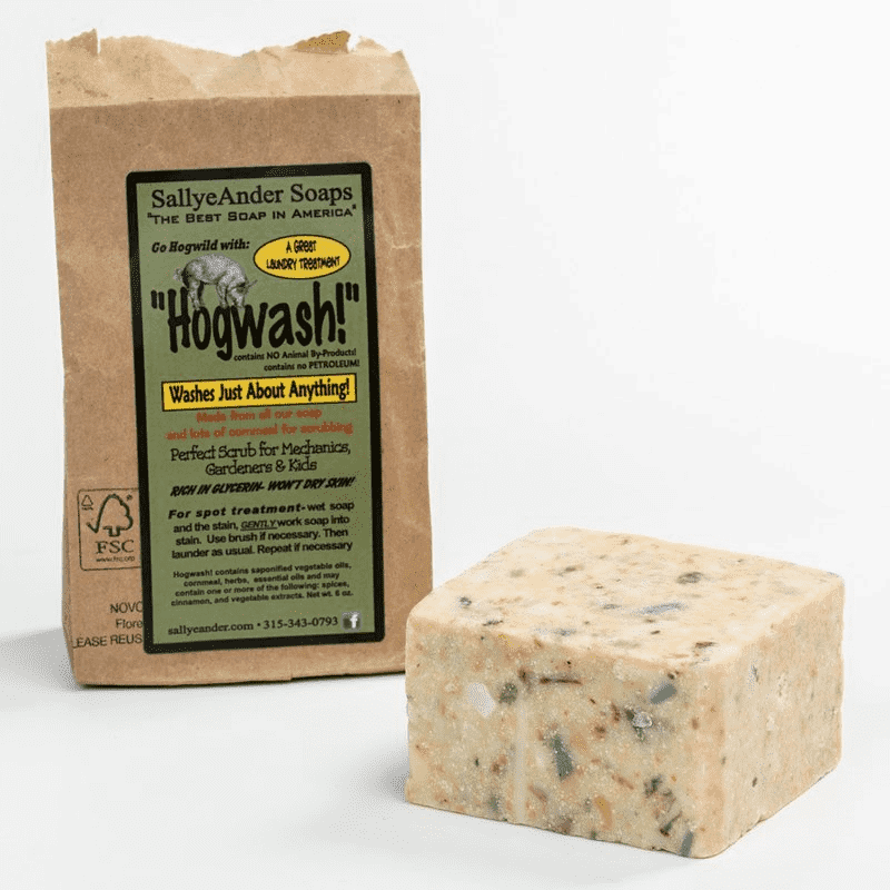 'Hogwash!' Soap