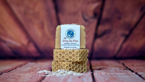 Honey Bee Mine Soap