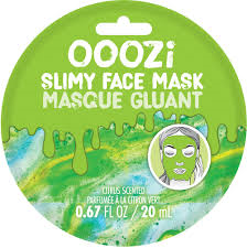 Ooozi Slimy Face Mask - Green Citrus