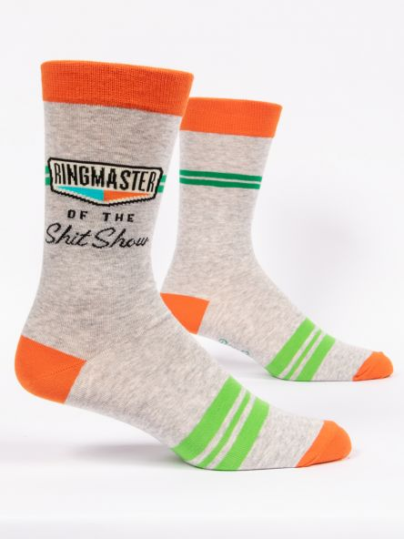Ringmaster of the Shitshow Men's Crew Socks