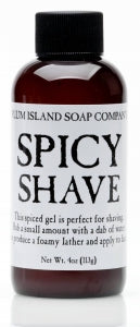 Plum Island Spicy Shave Gel
