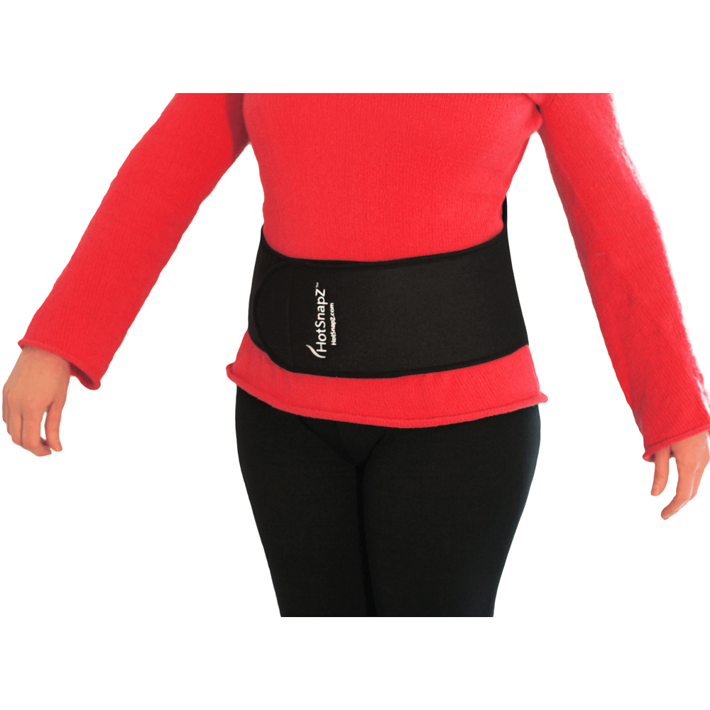 HotSnapZ Back Belt Set with FREE Extra Heat Pad