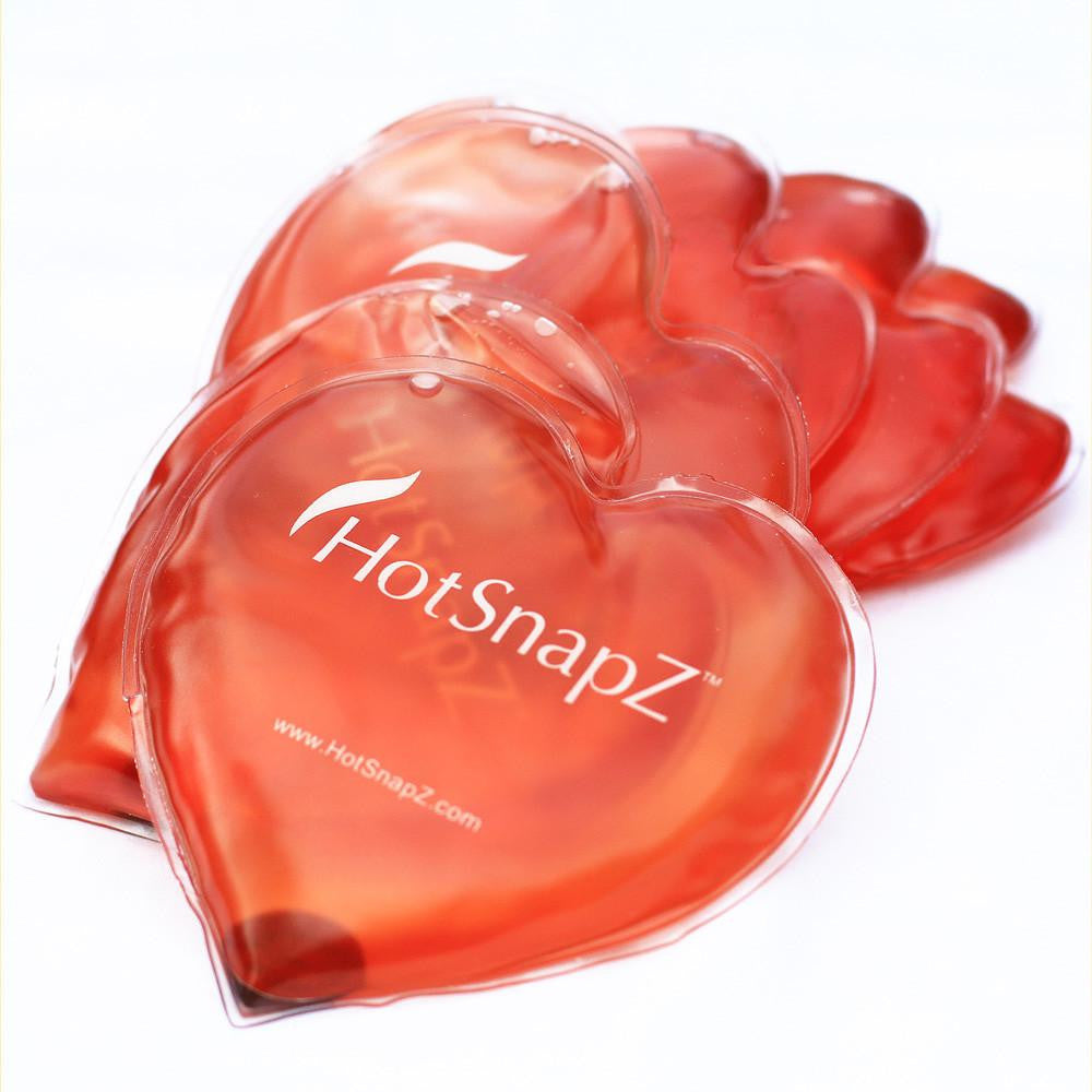 HotSnapZ Heart Hand Warmers -Buy 3 Get 3 Free