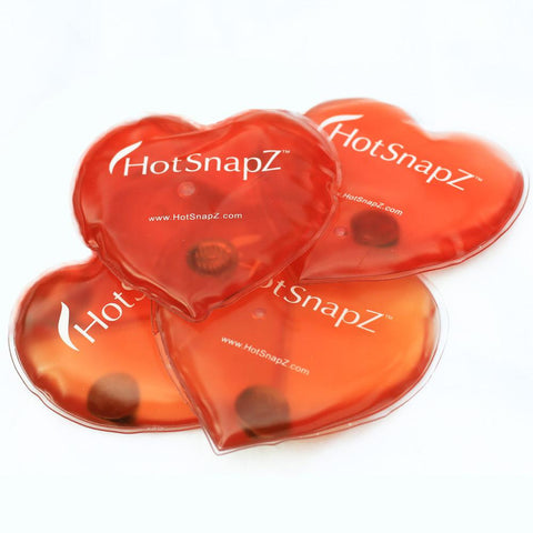 Heart HotSnapZ -Reusable Hand Warmers (2-Pr)