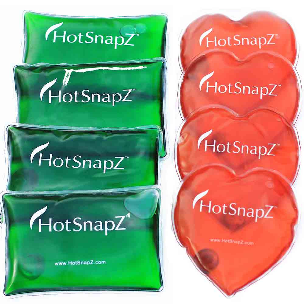 Heart & Pocket Reusable Hand Warmers - Buy 4 Get 4 FREE