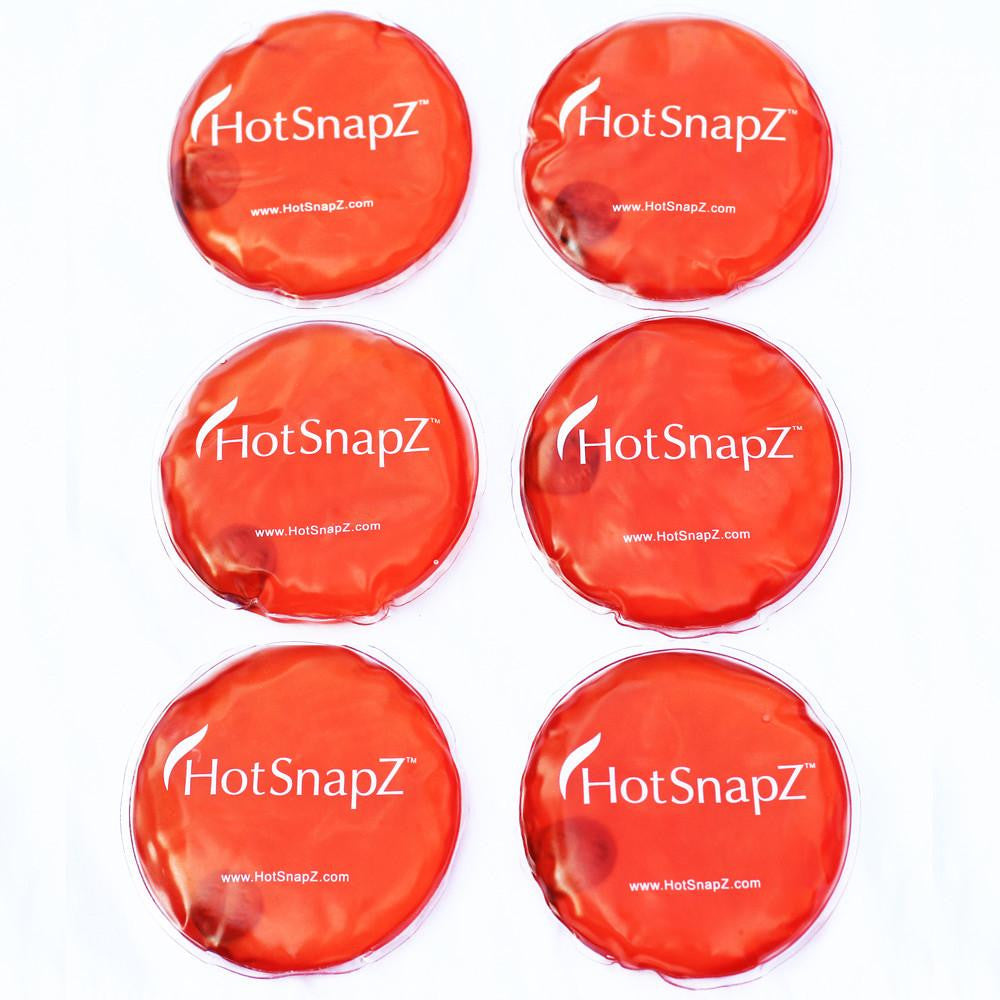 HotSnapZ Reusable Round Hand Warmers