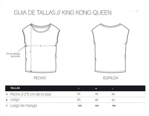 King Kong Queen // Camiseta