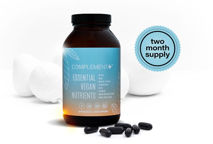 Complement Plus Vegan Vitamin Capsules - New