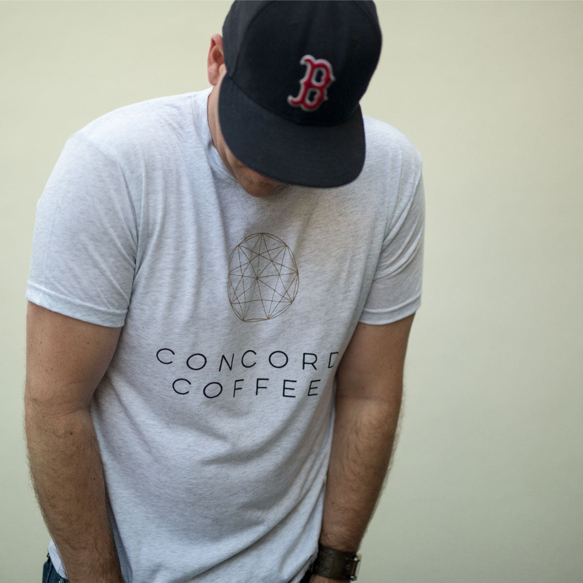 Heather White Concord Tee