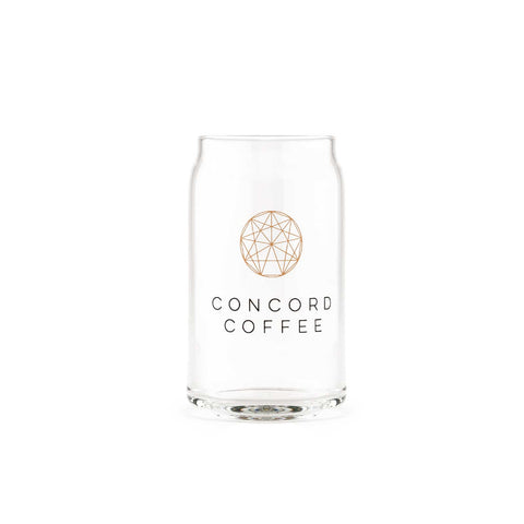concord coffee soda glass