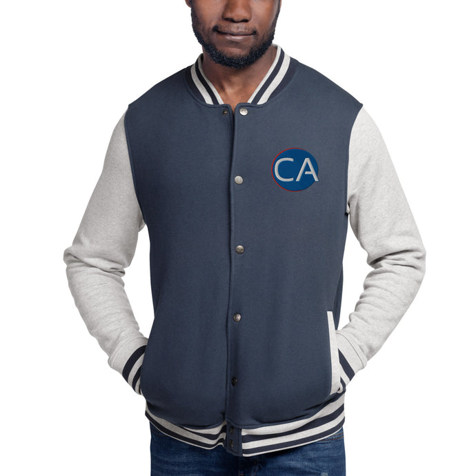 ClinicalAthlete Embroidered Champion Bomber Jacket