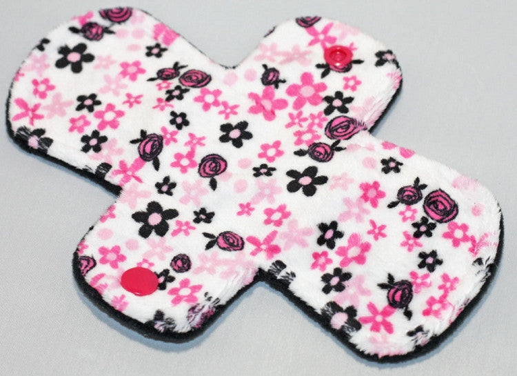 Pink Lemonade 7.5 Inch Regular Pantyliners - Minky