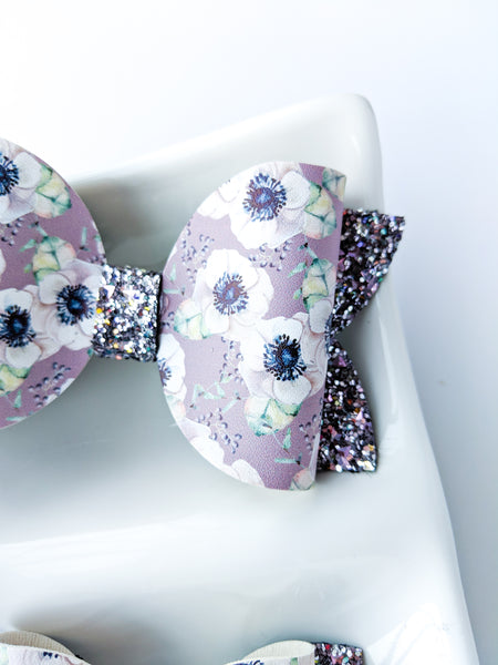 Purple Anemone Bows